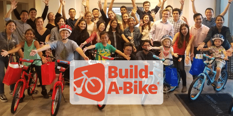 Build-A-Bike Team Building Activity