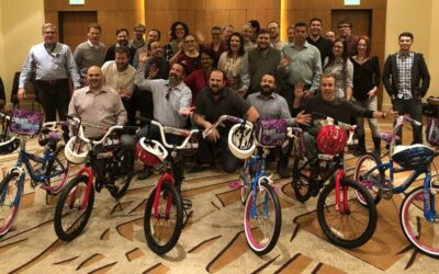 Optiv Security Fun Charity Bike Build in Denver, CO