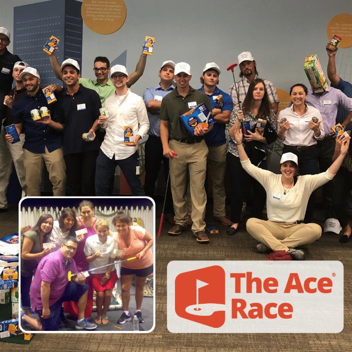 The Ace Race Golf Team Building Activity