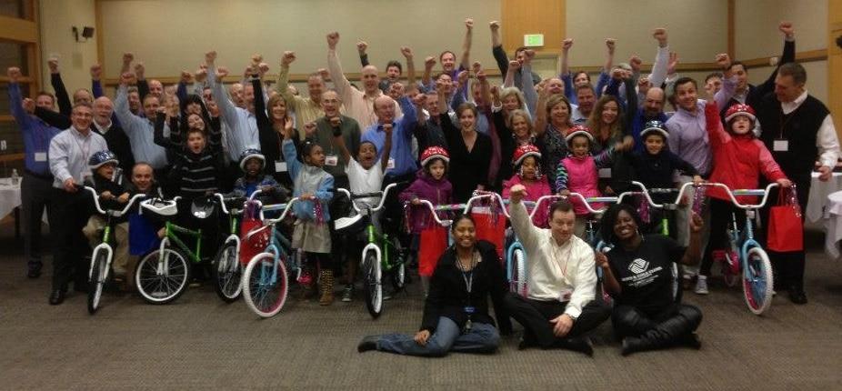 Trident Seafood Build-A-Bike in Seattle WA