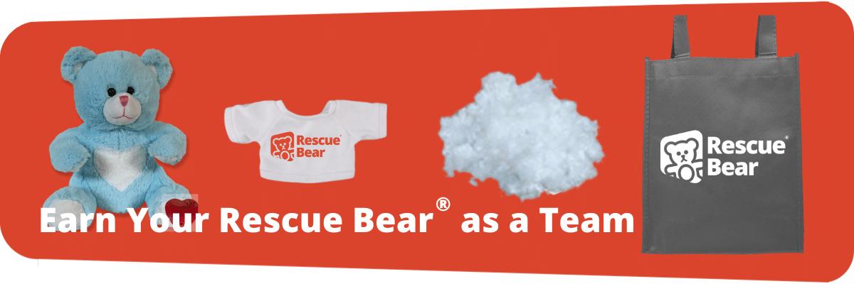 Rescue Bear stuffing