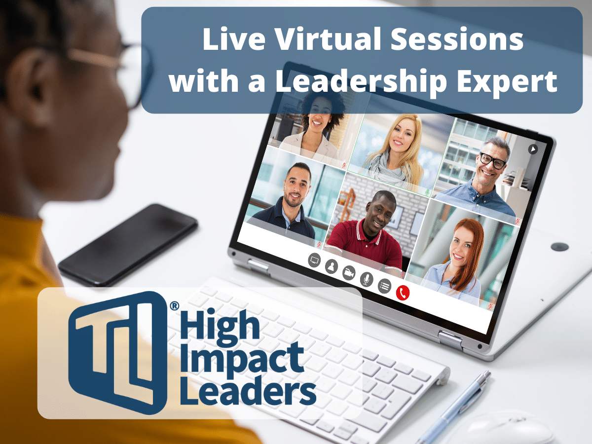 Live Virtual Sessions with a Leadership Expert