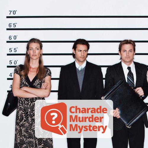 Charade Virtual Murder Mystery