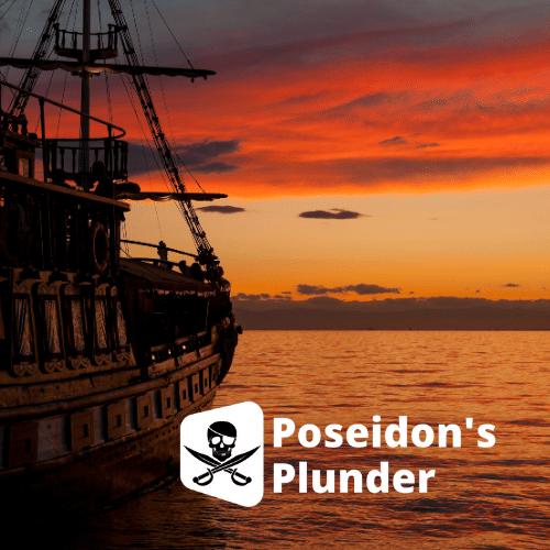 Poseidon's Plunder Virtual Team Treasure Hunt