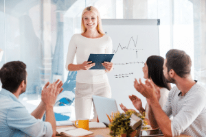 Presentation Training Icon