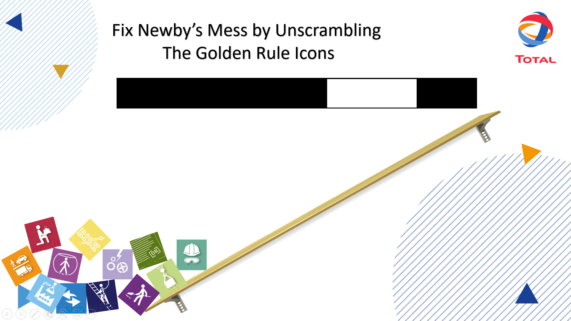 Unscramble the Golden Rules