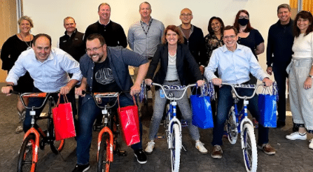 Amazon Build-A-Bike Activity for Kids in Seattle
