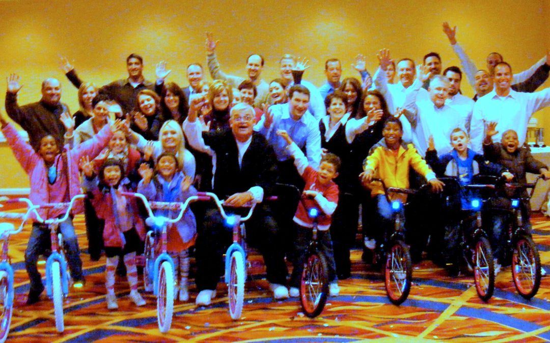 Quest Diagnostics Christmas Build-A-Bike in Pittsburgh, PA